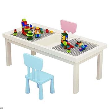 Juegos de mesas y sillas Juego de mesa y silla para niños Hogar Mesa de construcción ...