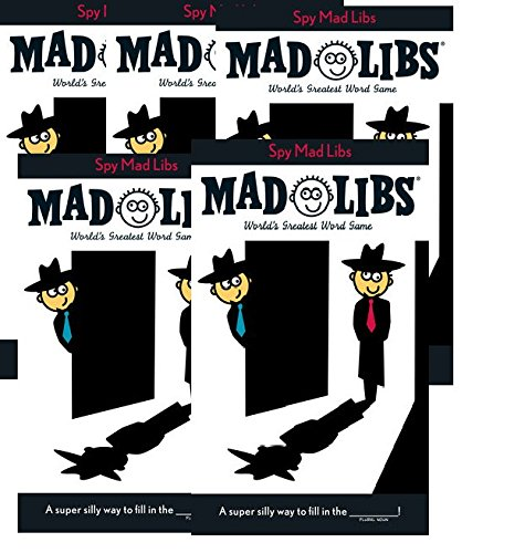 Spy Mad Libs Party Book Budle (5 Pack)