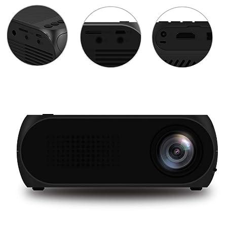 GMACCE Proyector, Mini proyector de Cine en casa MAX, Full ...