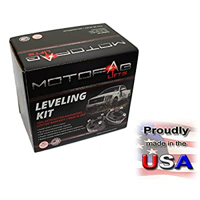 MotoFab Lifts CH-2.5-2.5 in Front Leveling Lift Kit That is compatible with Chevy/Gmc Pickup: Automotive