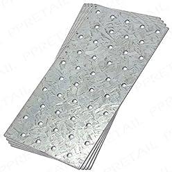 Strapazierf/ähige Reparatur-Verbindungsplatte 150 mm x 20 mm x 2 mm flach 10 St/ück