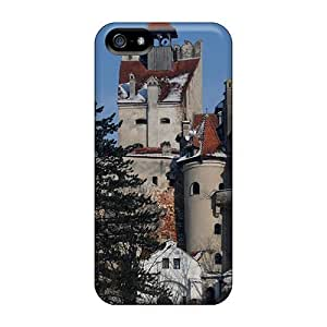 Excellent Iphone 5/5s Case Tpu Cover Back Skin Protector Bran Castle Romania
