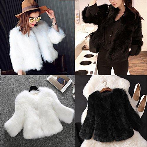 Short Jacket Winter Sleeve Outwear naturale With Skin Long Longra dChsxtrQ