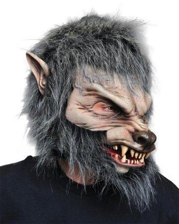 Zagone Great Wolf Mask, Werewolf, Big Head, Moving