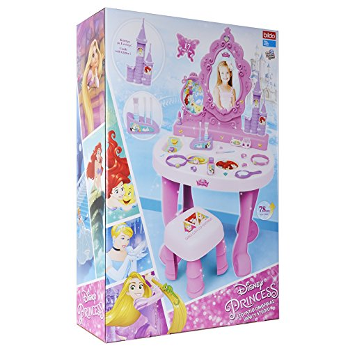 Disney Princess Dressing Table Play Set Girls Vanity