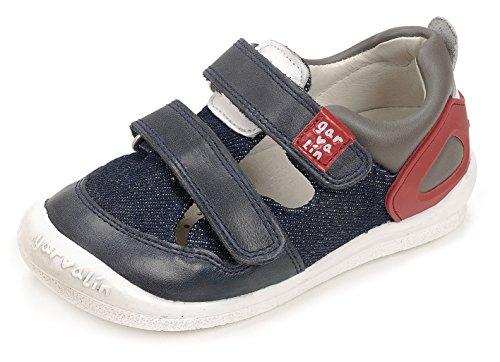 Garvalín 172451, Zapatillas Para Niños Azul (Navy Blue /     Kaiser /     Pique)