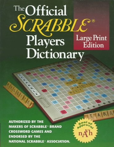 The Official SCRABBLE (r) Players Dictionary, Large Print Edition (Scrabble Official)