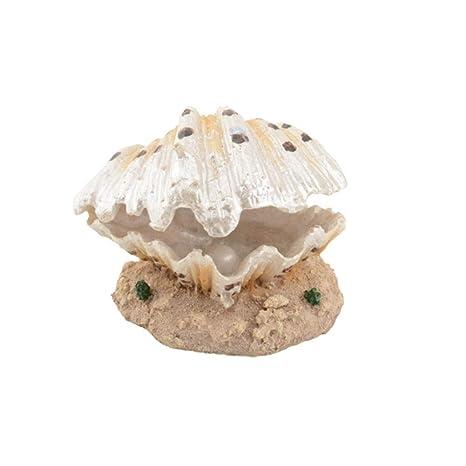 beijieaiguo Simulative Burbuja Shell Decoración decoración del ...