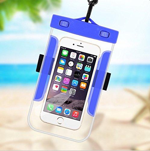 YOUTO防水ケースドライバッグ携帯電話ポーチfor iPhone 7 6s Plus 5s SE Samsung B073JCKQL2