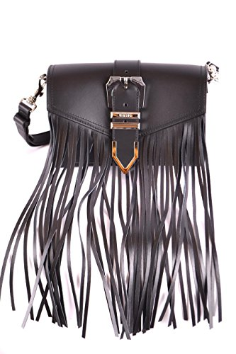 Versus Versace Women's Fbd1335fvof460n Black Leather Shoulder Bag by VERSUS VERSACE