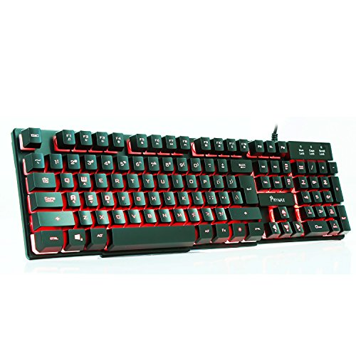 51HPO gv8RL - PRYMAX-Three-Color-Backlit-Gaming-Keyboard-USB-Wired-LED-Keyboard-Black