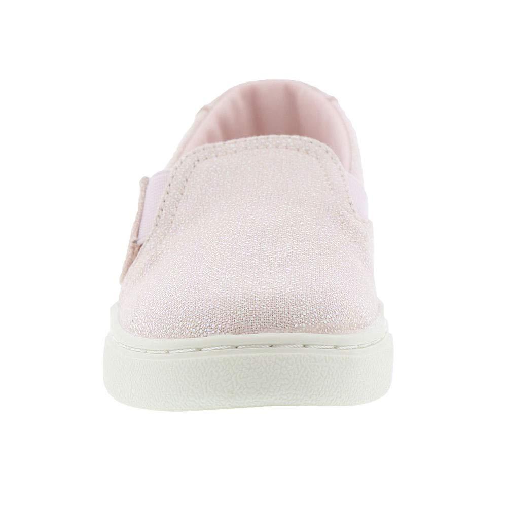 TOMS Luca Tiny Girls' Infant-Toddler Slip On 7 M US Toddler Pink-Iridescent by TOMS Kids (Image #5)