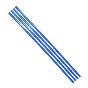 4PCs 500mm Length 10mm Diameter PETG PC Water Cooling Tube Rigid Acrylic Water Cooling Tube Water-Cooled Petg Hard Tube Computer Cooling Tube for Computer Water Cooling System (Blue)