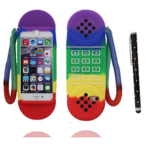 """iPhone 6 (4.7"""") Coque, [ de matériau TPU souple élégant durable ] iPhone 6s étui (4.7 pouces), poussière glissement résistant aux rayures, iPhone 6 (4.7"""") Case téléphone & stylet"""