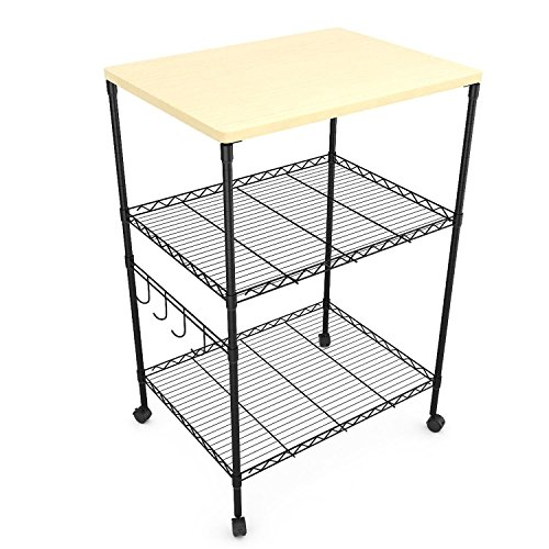 microwave cart counter height - 9