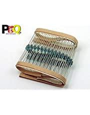POPESQ® 100 Piezas x Resistencia 680 Ohm (680R) 0.6W (Utilizable Tambien como 0.25W o 0.5W) Metal Film (1%) #A2415