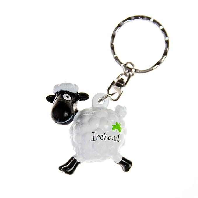 PVC Llavero con blanco saltando oveja: Amazon.es: Ropa y ...