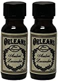 2 Pack Orleans Home Fragrance Essential Oil - Ambre Lavender - 1/2 FL. OZ