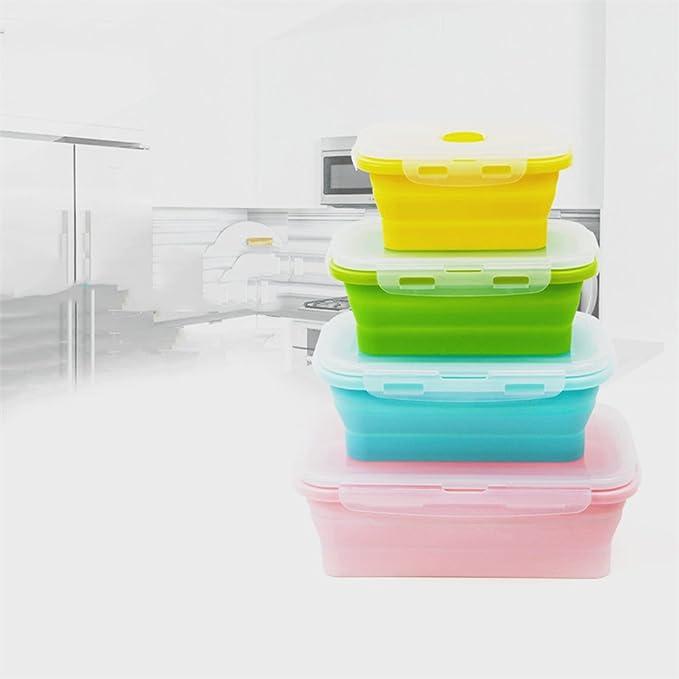 1pcs)) silicona faltende comida Buzón de microondas horno de ...