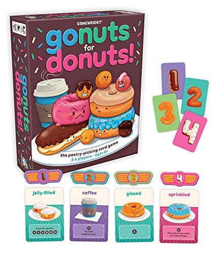 Gamewright Go Nuts for Donuts Card ()