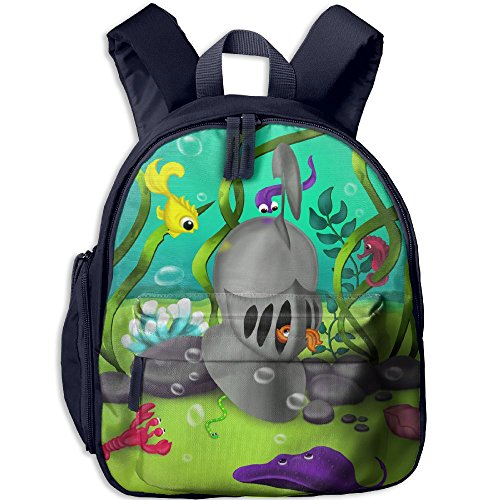 New York Knicks Lamp (Small Student School Bags Backpack Daypack Best Choice With Curious Fishes Super Bookbag Break For Children Boys Girls Navy)