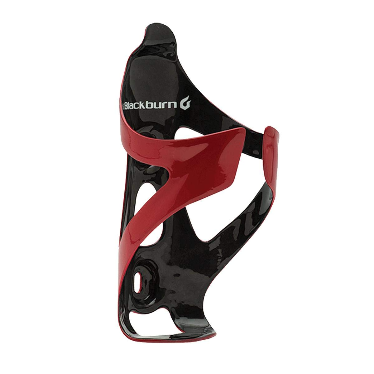Blackburn Camber UD Carbon Cage Gloss Red/Black, One Size by Blackburn