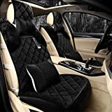 YAOHAOHAO Universal Full Set Universal fit seat cover car cover hot milestones of substance