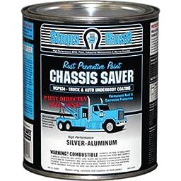 Magnet Paint Co UCP934-04 Chassis Saver Silver Aluminum, 1 Quart