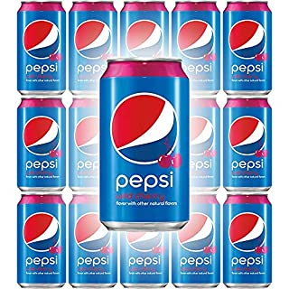 Pepsi Wild Cherry, 12 Fl Oz Cans (Pack of 15, Total of 180 Fl Oz)