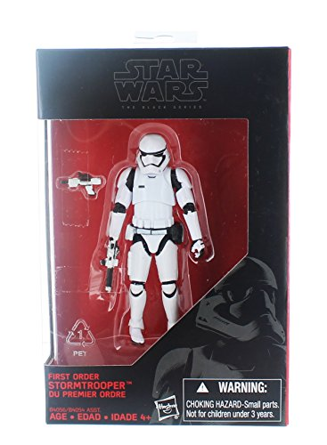 Star Wars, 2015 The Black Series, First Order Stormtrooper [The Force Awakens] Exclusive Action Figure, 3.75 Inches