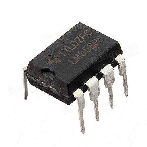 1 LM358P LM358N LM358 DIP-8 Chip IC Dual Operational Amplifier - Arduino Compatible SCM & DIY Kits Microcontroller Chip & IC - 1 x LM358 dual operational amplifier