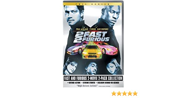 Amazon.com: Fast and Furious 2-Movie 2-Pack Collection (Full Screen Editions): Vin Diesel, Paul Walker, Tyrese Gibson, Michelle Rodriguez, Eva Mendes, ...