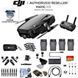 Onyx Black DJI Mavic Air Quadcopter Drone 4 Battery Bundle With Warranty