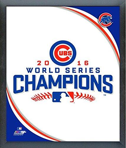 Chicago Cubs 2016 World Series World Series Champions Team Logo Photo (Size: 17