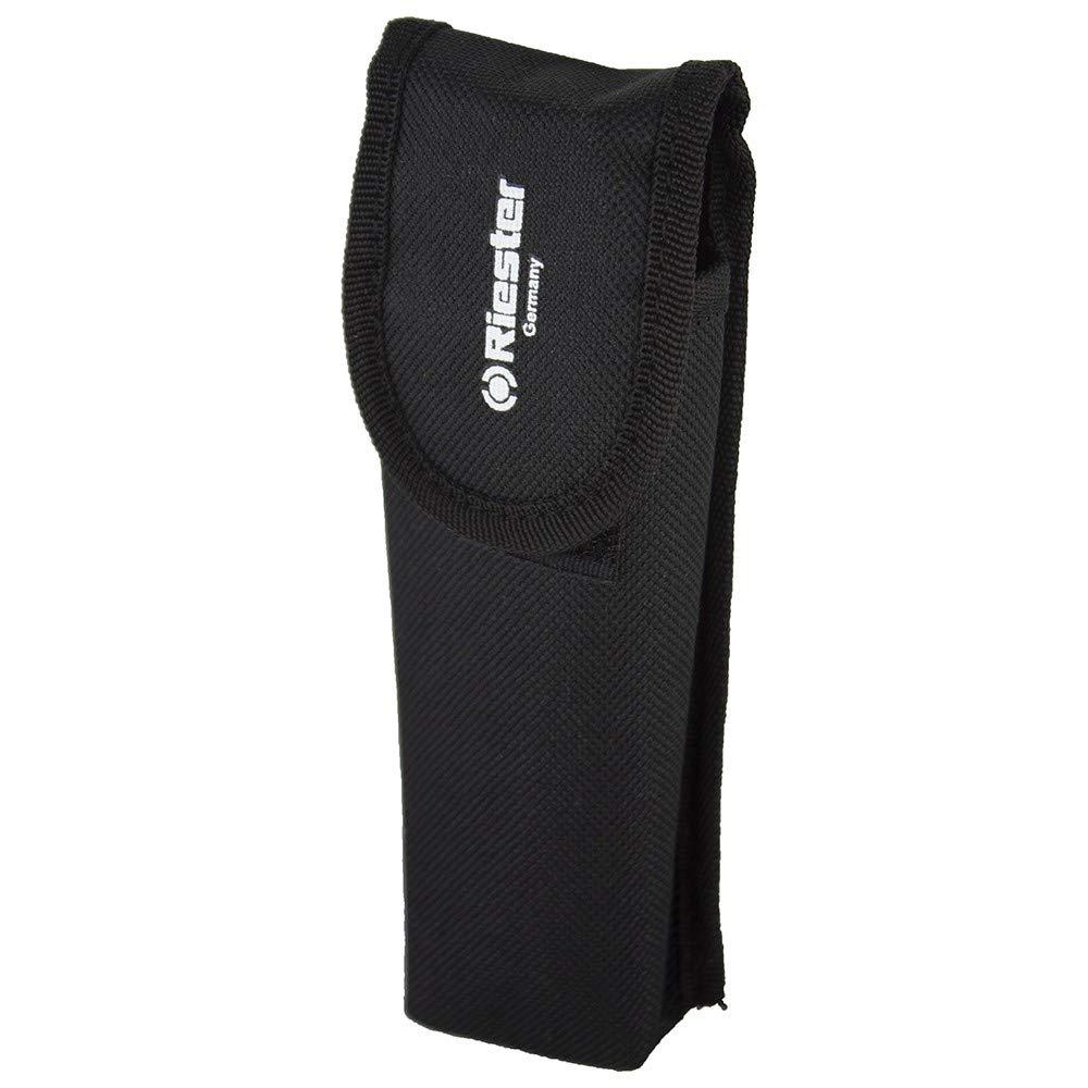 Riester 5130-02 e-xam blanco, XL 2,5V, en bolsa con cabezal del soporte para depresor lingual
