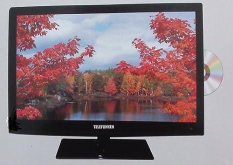 Telefunken lcd2439fh DVD/DVBT Full HD LCD de televisor con Reproductor de DVD: Amazon.es: Electrónica