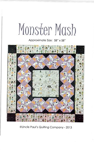 Monster Mash Quilt Pattern from Uncle Paul's Quilting Company 58