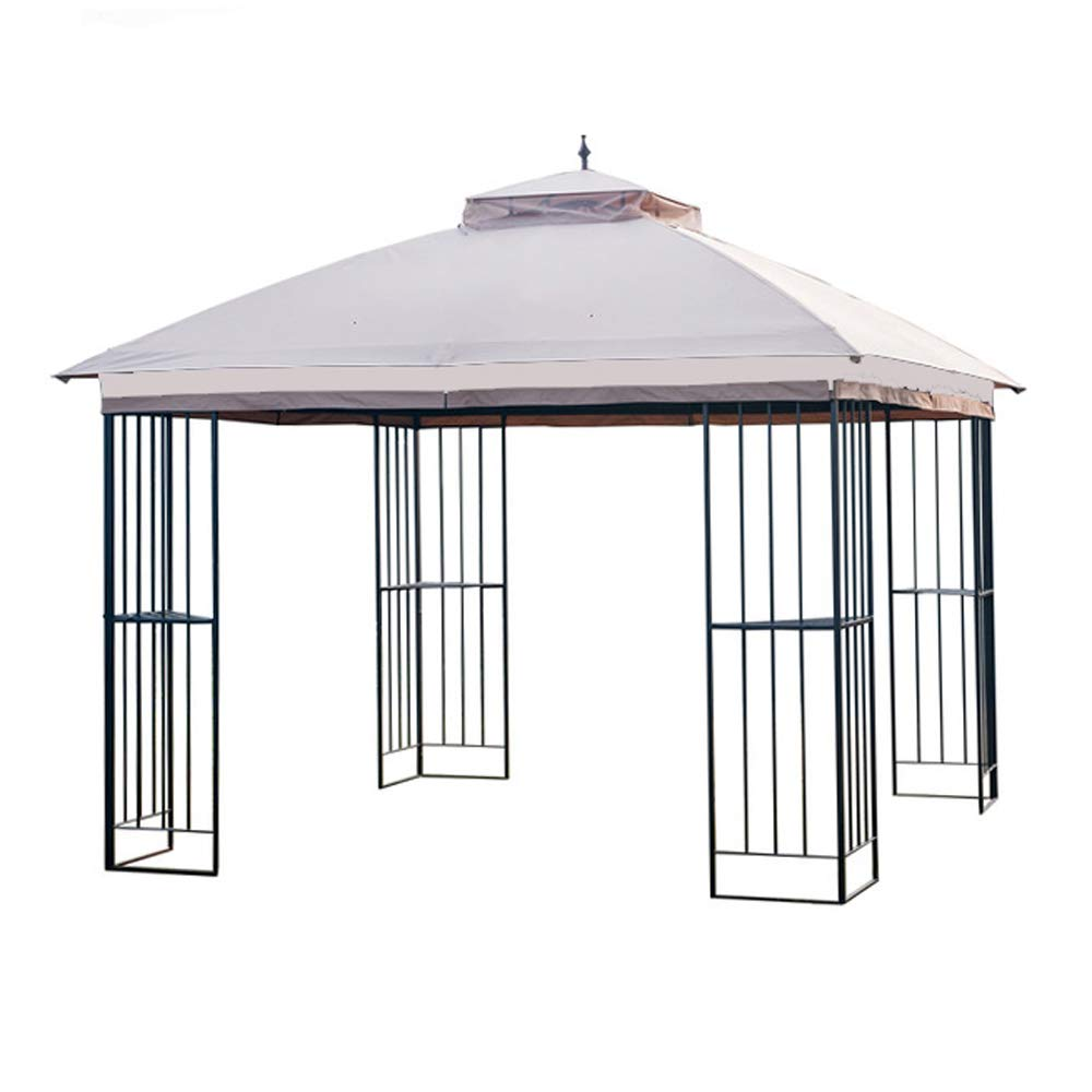 Garden Winds LCM1309B Top Cover for The GT Steel Finial Gazebo-350 Replacement Canopy, 10 x 10 Beige