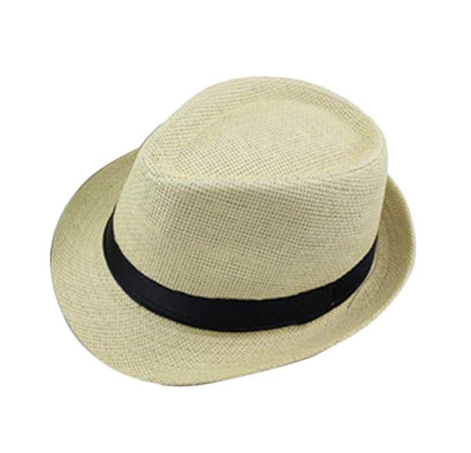 Sombrero De Paja De Panamá Sombrero para El Sol Unisex De Plegable ala Especial  Estilo Ancha 0f0197fa46b6