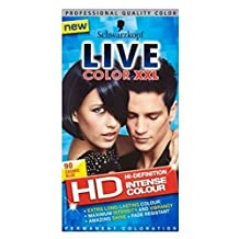 Schwarzkopf Live Color Xxl Hd 90 Cosmic Blue Permanent Blue Hair Dye
