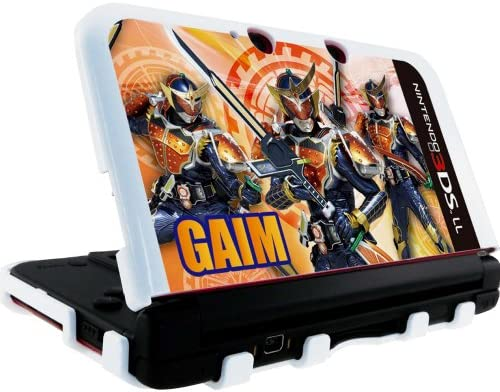 NINTENDO 3DS LL 専用 仮面ライダー鎧武 カスタムハードカバー オレンジ