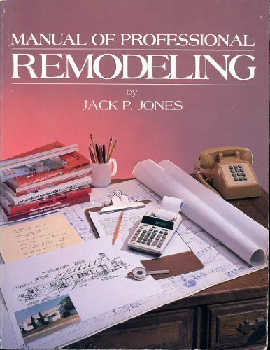 Manual of Professional Remodeling