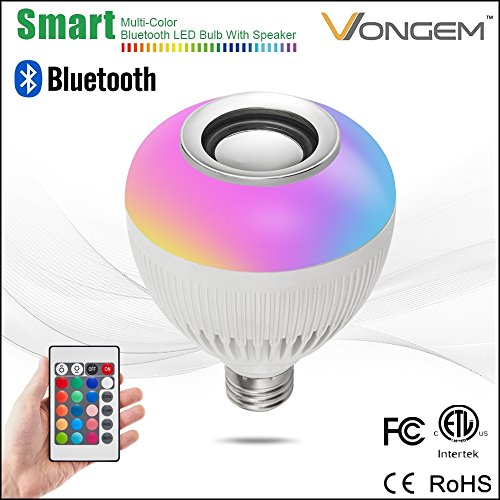 Bluetooth Speaker Wireless Control Dimmable