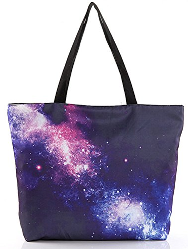Printing Women's Bags Universe Star Retro Shoulder Shopping Fashion THENICE wTURqAgq