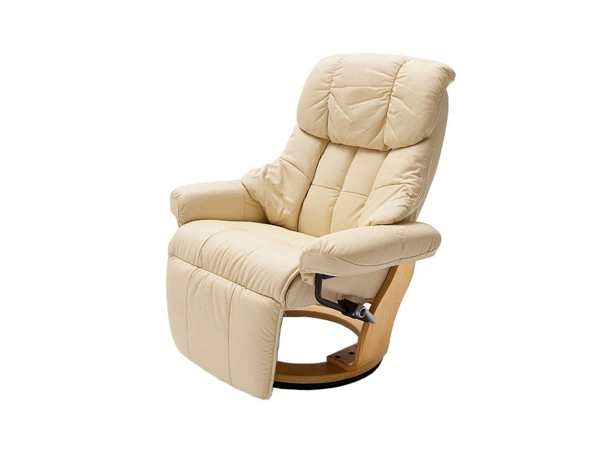 Relax Sessel Calgary mit Fußstütze von Confortevoli Fernsehsessel Beige
