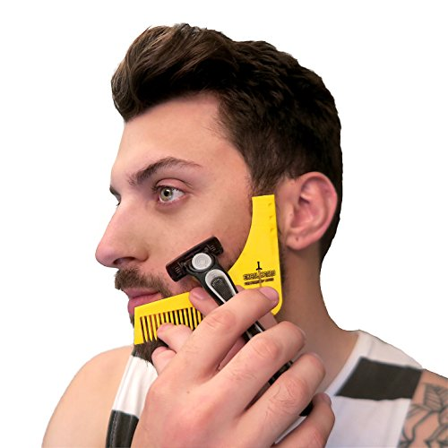 ExcaliBEARD Beard Comb Shaping Template Tool, Men's Shaving Tool - Essential For Barbers And Home Groomers (Costume Ideas For Men With Beards)