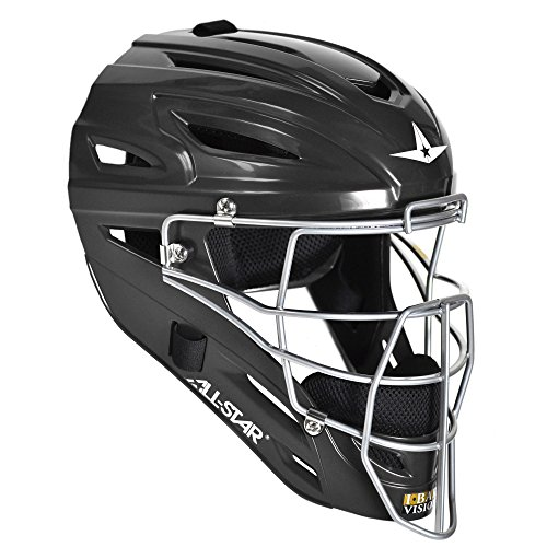 All Star System 7 Catchers Helmets Fits 7-7 1/2 Black