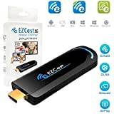 EZCast 5G TV Dongle 1080p Miracast DLNA Airplay WiFi High Speed Wireless HDMI Display Receiver Supports 5G WiFi Compatible with iOS Android Windows Device