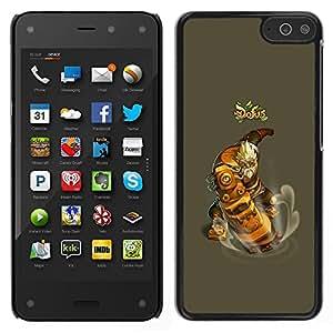 For Amazon Fire Phone Case , Dofus - Diseño Patrón Teléfono Caso Cubierta Case Bumper Duro Protección Case Cover Funda