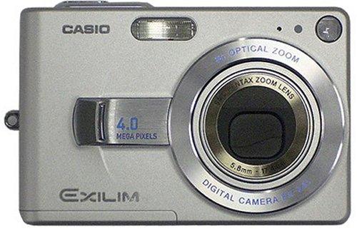 CASIO EXILIM ZOOM EX-Z40 シルバーの商品画像